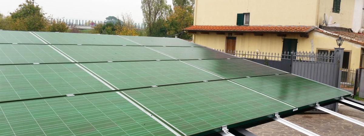 impianti fotovoltaici colorati
