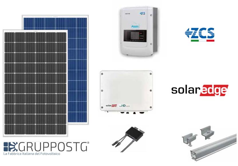 kit fotovoltaico kitaly